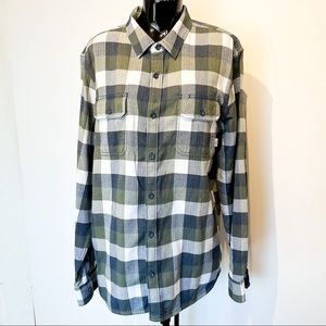 VANS Cotton Button Down Long Sleeve Unisex Shirt